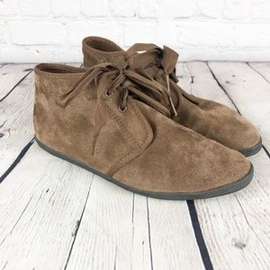 Vintage KEDS Brown Suede Chukka Boots 6.5